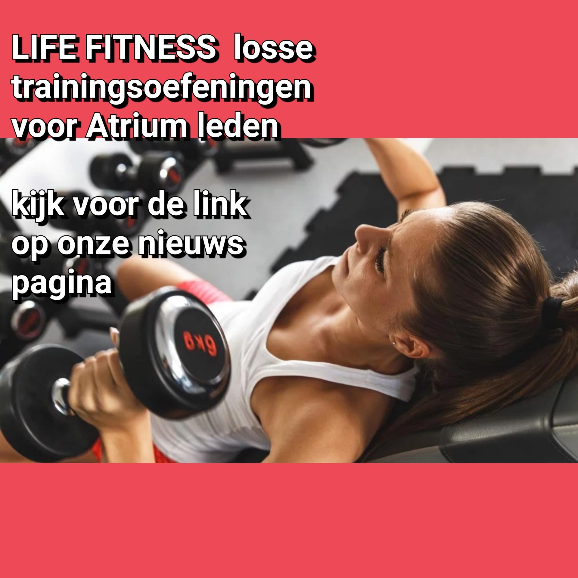 Life fitness losse oefeningen